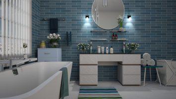 Oświetlenie lustra w łazience - o czym należy pamiętać